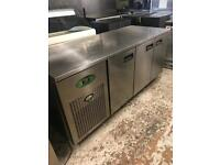 Fosters 3 door Bench freezer