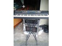 Yamaha keyboard&stand