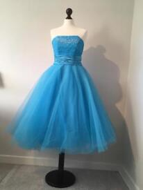 Blue Prom/ Bridesmaid Dress