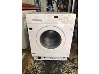 NEF washer dryer built in