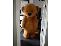 Brown Teddy Bear Mascott