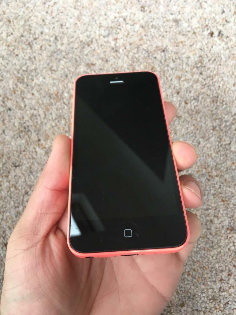 PINK IPHONE 5C 16GB UNLOCKED TO ALL NETWORKS