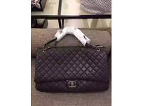 Chanel XXL leather travel flap bag