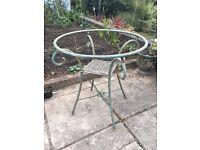 """Wrought Iron Garden Table Base 28"""" x 28"""""""