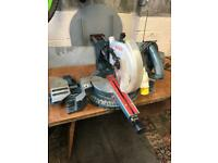 Bosch Chop Saw 110V (Spares or Repairs).