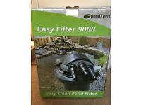 NEW flow master pond pump and bio-pressure filter