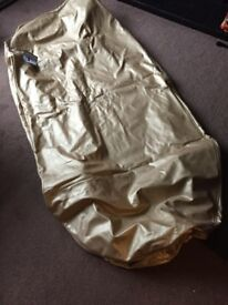 Giant gold beanbag cover