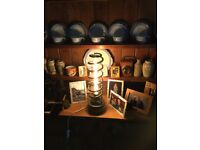 Rare car spring table lamp