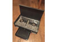 SunnGas 2 burner stove and grill