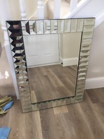 Art Deco style mirror - beautiful, purchased from NEXT