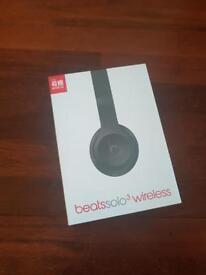 Dre Beats Solo 3 Wireless in Black - BRAND NEW