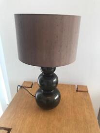 Lovely brown lamp