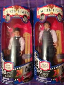 Laurel and Hardy 70th anniversary collectors dolls