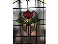Antique windows flower
