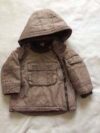 Winter jacket size 9-12 months
