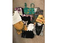 12 Festival tops clothes bundle