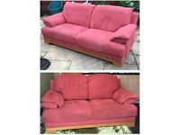 3 seater and 2 seater sofa (bought from Sterling furniture)