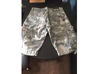 Crosshatch shorts