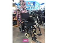 Invacare Mirage Folding Electric Wheelchair - Brand New Batteries