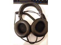 Audio-Technica ATH-M50X Studio Monitor Professional Headphones