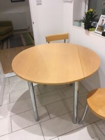John Lewis extending round dining table