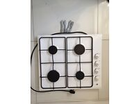 White Gas Hob for sale