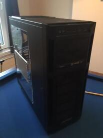 Antec large gaming pc case with disc drive