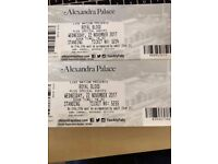 Royal Blood 2 x Standing Tickets - London Weds 22nd November - Alexander Palace