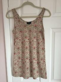 Topshop vintage style vest size 10