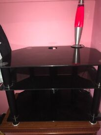 Black glass unit