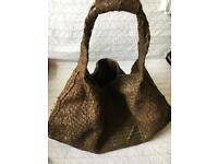 Snake skin travel bag
