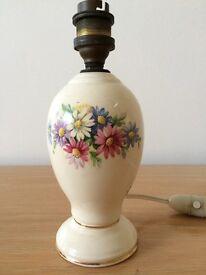 Small porcelain lamp