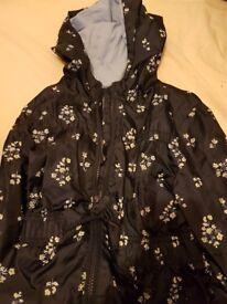 Shower proof coat age 8- 9