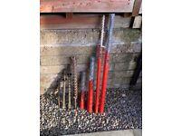 Hilti coring bits £450