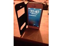 I phone 5 with brand new screen and high capacity battery