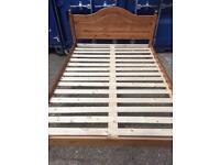 New pine 4 ft 6 inch double bed