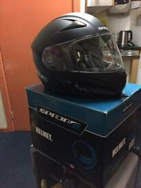 Motorcycle Spada Helmet matt Black