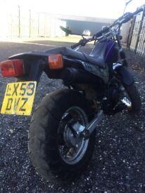 For sale ,beautiful Yamaha TW125 .