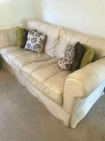 Large 3 seater & 2 seater sofa