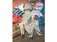 Baby boy bundle 6-9 9-12 over 50 items ✅