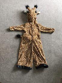 Giraffe children's dress up outfit.