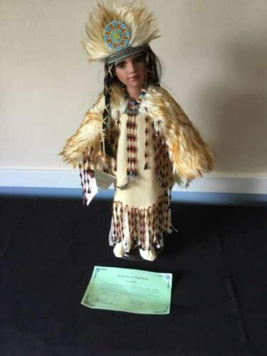 Duck House Heirloom  Native American doll titled
