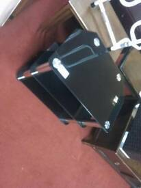 Small glass tv stand Tcl21232