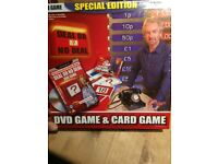 Deal or no deal dvd and board game