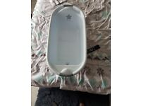 Mothercare baby bath with plug for easy emptying