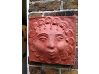 Garden wall ornament