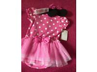 Brand new with tags disney minnie mouse dress