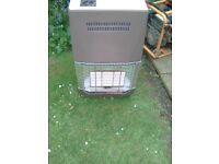 Calor gas heater and gas bottle empty average condition