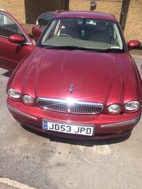 Jaguar x-type. 2005 in brand new condition