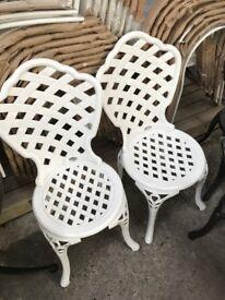 Aluminium Outdoor Bistro Chair